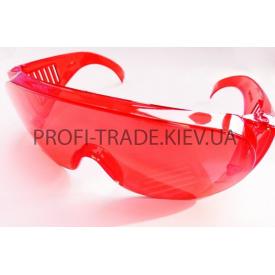 Очки защитные Озон красные ПТ-4743