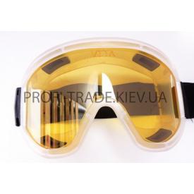Очки защитные силиконовые большие ЖЕЛТЫЕ (10 шт) ПТ-6632