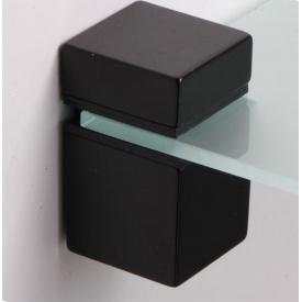 Полкодержатель меблевий Falso Stile ПК-28 чорний матовий