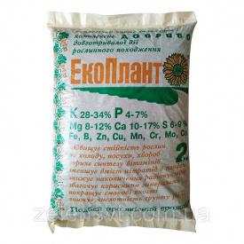 """Екологічне комплексне добриво """"Екоплант"""" для овочевих, плодових, декоративних і хвойних культур (2 кг)"""