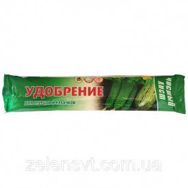 Комплексное удобрение Чистый Лист для огурцов и кабачков 100 г Украина