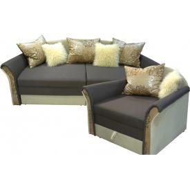 """Комплект Ribeka """"Стелла 2"""" диван и 2 кресла Бежевый (02C02)"""