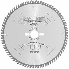 Пильный диск СМТ по ламинату МДФ и ДСП для форматных станков 250 30 80 3,2/2,2