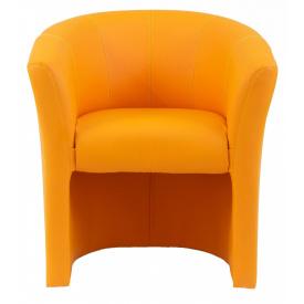 Кресло Richman Бум 650 x 650 x 800H см Zeus Deluxe Orange Оранжевое