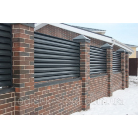 Забор Жалюзи Prestige 80/90 мм однослойное покрытие