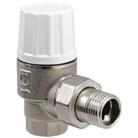 """Клапан термостатичний підвищеної пропускної здібності кутовий Valtec 1/2"""" VT.033.N.04"""
