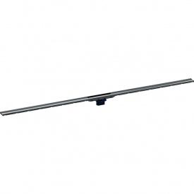 Душевой дренажный канал Geberit CleanLine80 для тонких полов черный хромированный 30-130 см 154.441.QC.1
