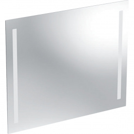 Зеркало с подсветкой Geberit Option Basic двухсторонняя подсветка 80x65 см 500.588.00.1