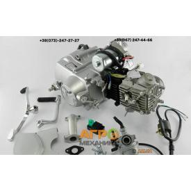 Двигатель на мопед Delta/Alpha/Active 90 cc механическое сцепление