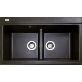 Кухонна мийка Adamant SIMILAR 850х510х230, з сифоном, 05 коричневий
