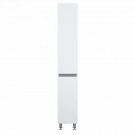 Пенал підлоговий AM.PM X-Joy 35 см, правий, з кошиком для білизни, білий глянець M85CSR0351WG38