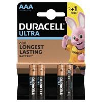 Батарейки DURACELL LR03 MN2400 Ultra упаковка 3+1 шт