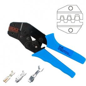 Кримпер клещи для обжима опрессовки наконечников клемм 0.5-1.5 мм SN-48B