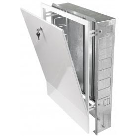 Шкаф Valtec встраиваемый 4 вых 680-780х350х110-165 VTc.540.B.04