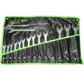 Набір ключів рожково-накидний 14 шт Alloid НК-2005-14М сумка