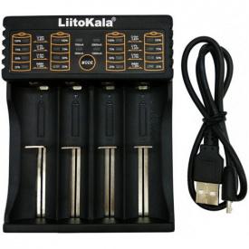 Зарядний пристрій для акумуляторів Liitokala Lii-402 18650 АА/ААА