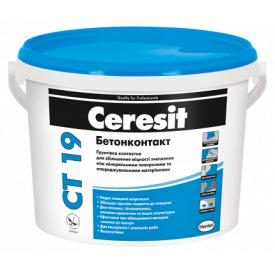 Грунтовка адгезивнная Ceresit CT 19 Бетонконтакт 4,5 кг