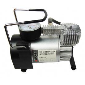 E-81-115 Миникомпрессор автомобільний 12 В 11 бар 40 л / хв набір адаптерів (3 шт)