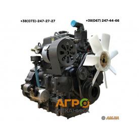 Двигатель дизельный KM385BT на трактор 24 л.с.