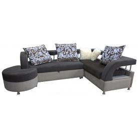 Угловой диван Ribeka Миллениум Серый (УМ-502)