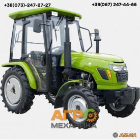 Мини трактор DW 244DC с кабиной