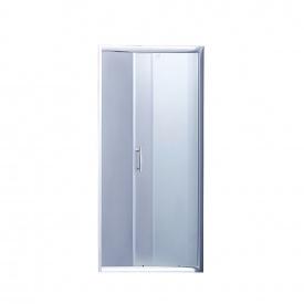 Душевая дверь в нишу Lidz Zycie SD100x185.CRM.FR, стекло Frost 5 мм