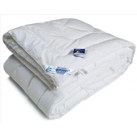 Одеяло Руно искусственный лебяжий пух полуторное 140x205 см тик 1200 г
