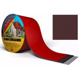 Самоклеюча стрічка Nicoband 10м 7,5 см коричнева