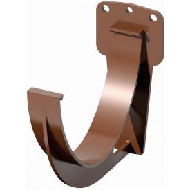 Кронштейн жолоба Verat 125 мм коричневий