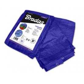 Тент Bradas STANDARD тарпаулін 50 г/м2 3х3 м синій PLL3/3