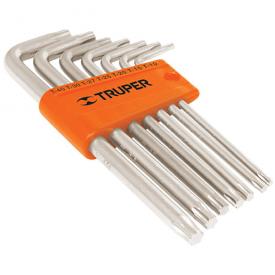 Набор ключей TRUPER TORX-9 в пластиковой кассеты 9 шт