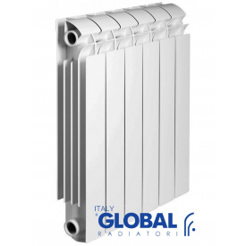 Алюминиевый радиатор Global Vox Extra 500 (1 секция)