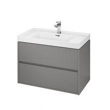 Шкафчик под умывальник CREA 80 серый матовый