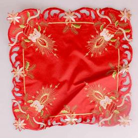 Серветка Lefard 35x35 см червона 829-108