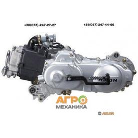 Двигатель на скутер Yiben 139QMB GY6-80 сс колесо 12 под 2 амортизатора
