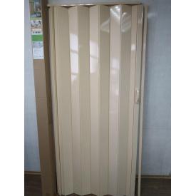 Двери гармошка глухая 810 х 2030 Сосна №2