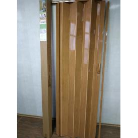 Двери гармошка глухая 810 х 2030 Ольха №5