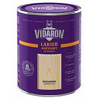 Лак д/дерева VIDARON зовнішній глянець 1л безбарвний