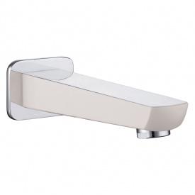 BRECLAV вилив для змішувача прихованого монтажу для ванни хром білий IMPRESE VR-11245W