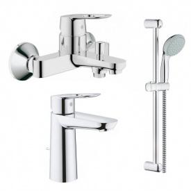 Bauloop набор смесителей для ванны 237620002360300027598001 GROHE 123215M