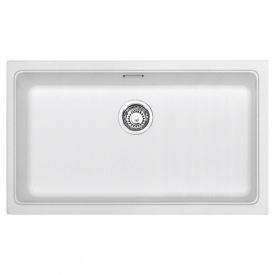 Кухонная мойка Franke KBG 110-70 гранит белый 125.0499.009