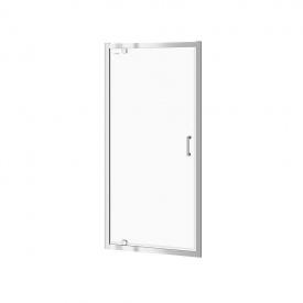 Душевые двери PIVOT BASIK 80x185 прозрачное стекло