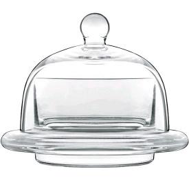 Блюдо с куполом маленькое круглое Luigi Bormioli Insieme 90 мм