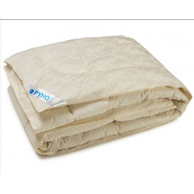 Одеяло шерстяное Руно двуспальное молочное 172x205 см