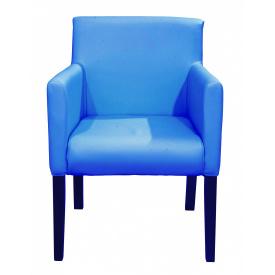 Кресло Richman Остин 61 x 60 x 88H Zeus Deluxe Blue Голубое
