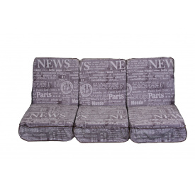 Комплект поролонових подушок для гойдалки садової 011