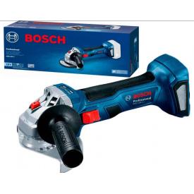 Акумуляторна безщіткова кутова шліфмашина Bosch Professional GWS 180-LI без акб
