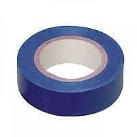 Ізоляційна стрічка 0.13х19 мм 20 м синя IEK