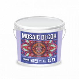 Декоративна мозаїчна штукатурка MOSAIC DECOR зерно 1,0-1,6 мм колір 1 Polimin по 25 кг
