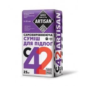 Самовирівнююча суміш для підлоги (5-20 мм) С-42 ARTISAN, 25 кг